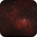 IC 405 Flaming Star Nebel,                                Enrico