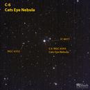 Caldwell 6 The Cats Eye Nebula,                                Jeff Padell