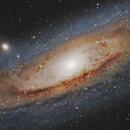 M31- into the heart of Andromeda,                                Lorenzo Palloni