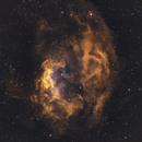 Sh2_261 - Lowers Nebula in SHO/RGB,                                Uwe Deutermann