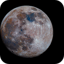Mond in Farbe am 25.02.2021,                                Matthias Groß