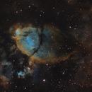 Fish Head Nebula  NGC896 SHO,                                tristarcapt