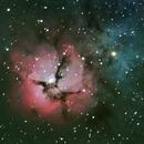 Trifid Nebula M20,                                StarMax