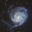M 101 Pinwheel Galaxy Ha-LRGB,                                Brandon Tackett