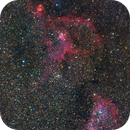 Heart and Soul Nebula 59x 3mins A7Riii ISO3200,                                Zak Foreman