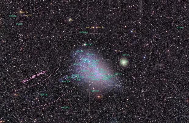 Small Magellanic Cloud – Wide Field,                                Alex Woronow
