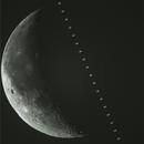 Daytime ISS Lunar Transit 12-9-2020,                                walkman