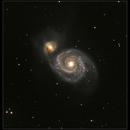 Messier 51 Whirlpool Galaxy,                                Hermann Schieder