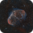 Crescent Nebula HOO A ball of Hydrogen surrounded by Oxygen,                                Cfreerksen
