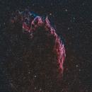 NGC 6992 in HOO,                                Ben Kerlik