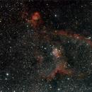 Heart nebula - IC1805,                                Ian Dixon