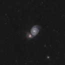 M51 - second test run,                                Claus Steindl