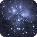 M45 - Pleiades - Another Attempt,                                Crazy Owl Photography