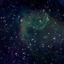 Nebulosa elmo di thor,                                gioveluna