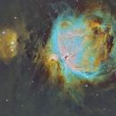 M42 in HST Palette,                                John Bozeman