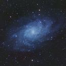Triangulum Galaxy - 300s subs,                                Aaron Freimark