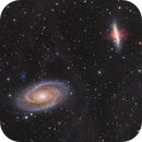 M81 and M82,                                Rodolphe Lacroix