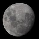 Lune au zénith -22h32 - 30 août 2020,                                Ariel