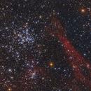 M 38 & NGC 1907,                                Chuck Manges