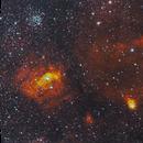 Bubble Nebula on Fire in HOO,                                Adam T.
