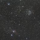 M52 and Bubble Nebula ; 150/750,                                caraibe79lg