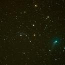 Comet PanSTARRS C2017 T2 and NGC927,                                Boommutt