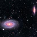 Messier 81 & 82,                                rupeshvarghese