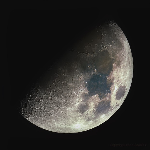 The Moon,                                Ysty