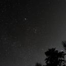 Wide field of my back yard with Orion,                                David Quattlebaum