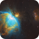 The Great Orion Nebula - in SHO,                                Andrew Marjama