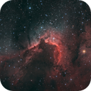 Cave Nebula (SH2-155),                                JMDean