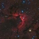 The Cave Nebula, Sh 2-155,                                Madratter