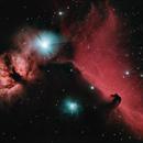 Horse Head Nebula and Flame Nebula,                                Todd Keil