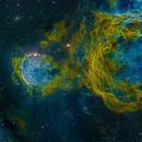 NGC 3324,                                Miles Zhou