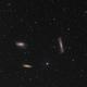 Leo Triplet - M65, M66, NGC3628,                                Yakov Grus