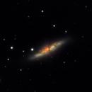 M82 - 20210505 - Celestron C6 at F4.6 - Finally under a clear sky!,                                altazastro