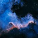 Cygnus Wall - NGC 7000,                                CitySpace Astro