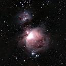 M42, Great Nebula In Orion and NGC1977, The Running Man Nebula,                                Michel FLEUREAU