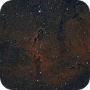 Elephant Trunk Nebula L-eNhance Reprocess,                                Elmiko