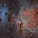 Great Orion Nebula in HDR,                                Alberto Pisabarro