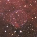Soap Bubble Nebula (PN G75.5+1.7) in HSO,                                Rathi Banerjee