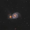 M51 - Whirlpool Galaxy,                                Bill Long