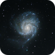 M101 The Pinwheel Galaxy - Crop,                                Trevor Gunderson