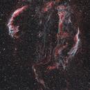 Cygnus Loop widefield HaOIIIRGB,                                Sergey Trudolyubov