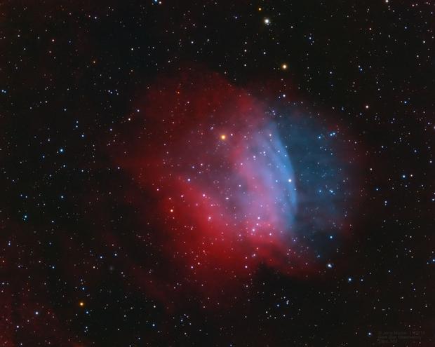 Sh2-174 Emission Nebula,                                Jerry Macon