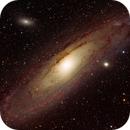 M31, The Andromeda Galaxy, HaRGB,                                riot1013