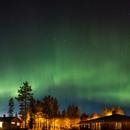 Northern Lights, 14.4.2015 - panorama,                                Jochen Schuster