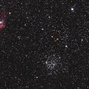 M52 and NGC7635,                                Raymond