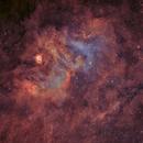 ngc 6604 & sh2-54 HOO,                                astromat89