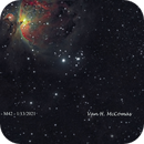 The Orion Nebula – M42 My Data and my mistake,                                Van H. McComas